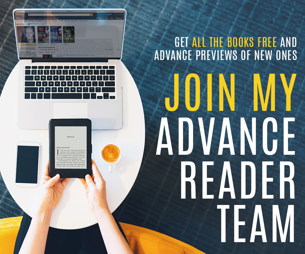 David Bradwell Advance Reader Team
