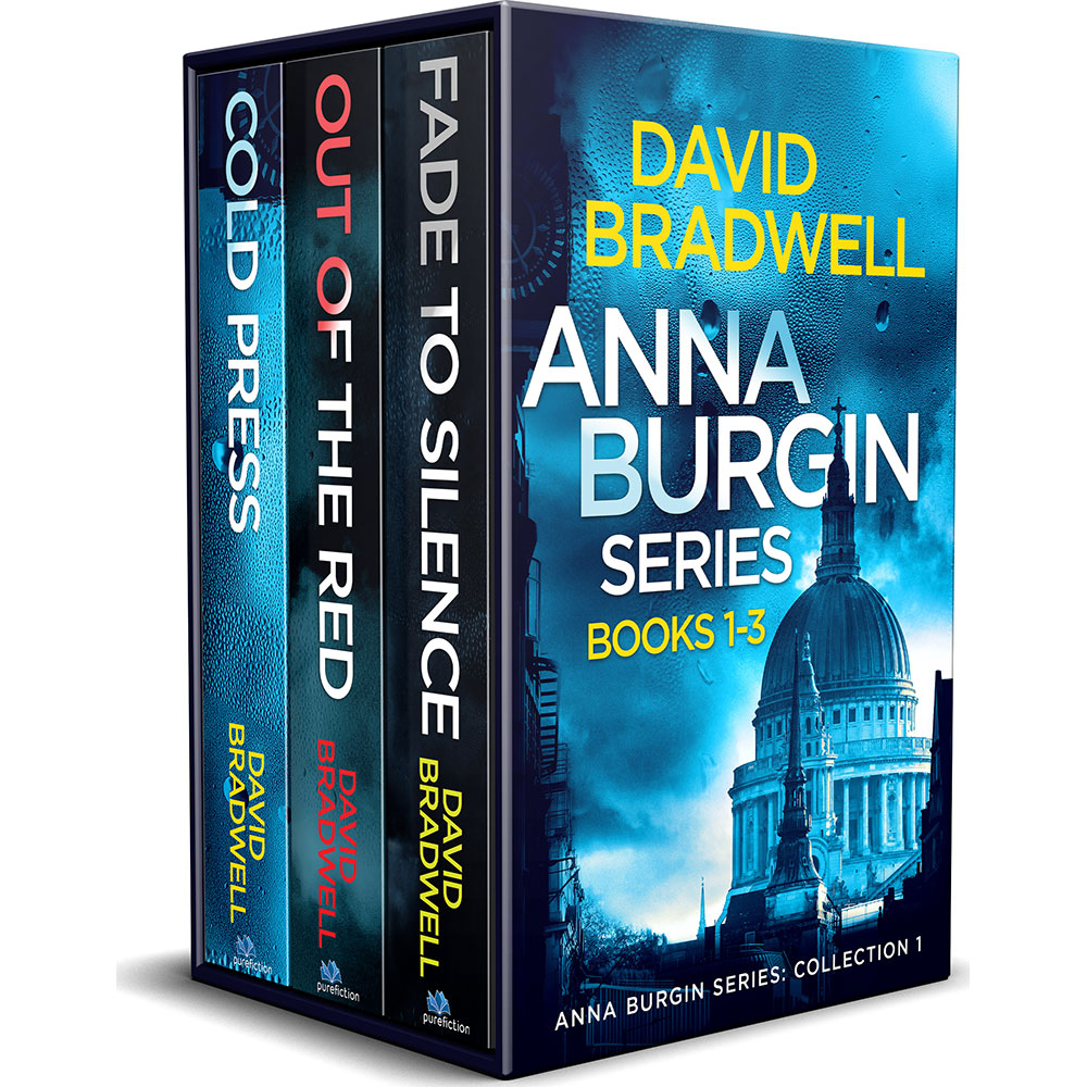 David Bradwell - Anna Burgin Series 1-3