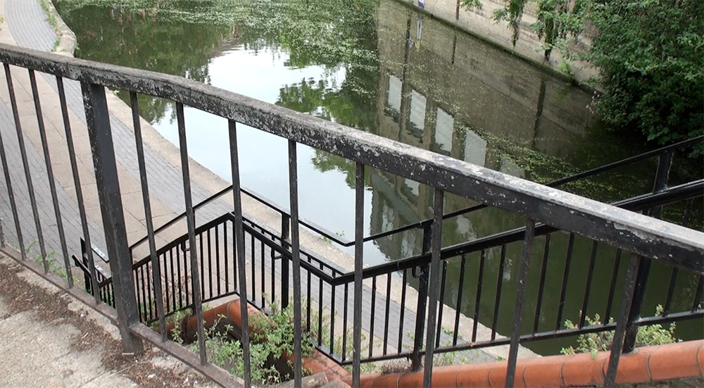 Baynes Street Canal, Camden