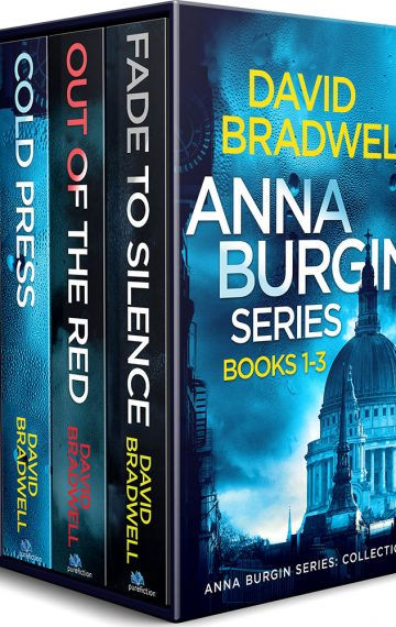 Anna Burgin series – books 1-3 box set