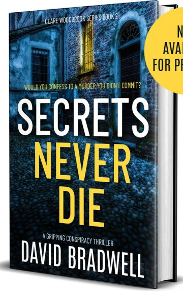 Secrets Never Die – Clare Woodbrook book 2